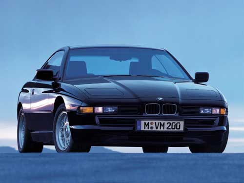 bmw serie 8 E31 photo de face