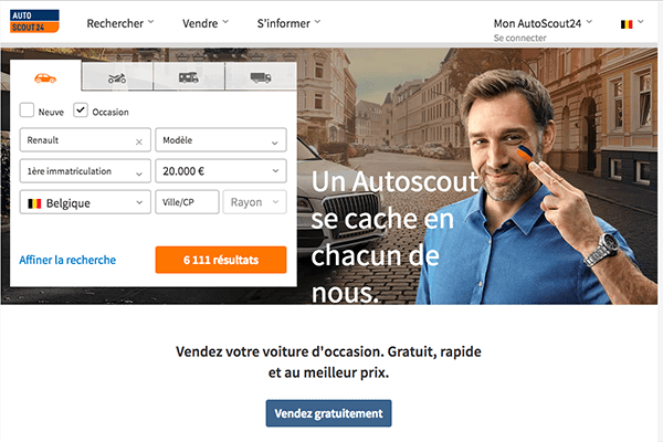 le bon coin belgique voiture : l'alternative autoscout24