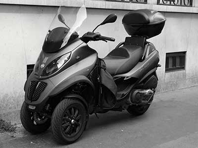Scooter à 3 roues d'occasion